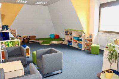 Beratungsraum mit Spielecke
